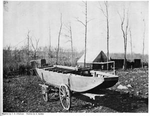 Fort Huger Civil War Encampment Hut