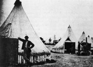 Fort Huger Civil War Encampment