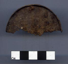 Archaeological Artifact from Fort Huger - can lid
